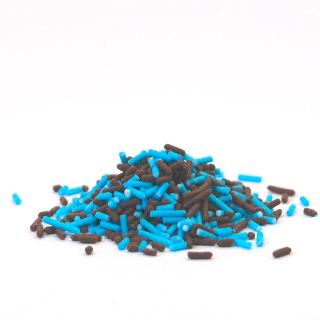 posypka chocomint dekoracyjne pałeczki cukrowe 400g