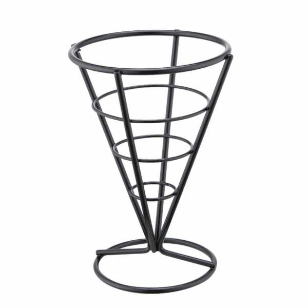 Bubble Waffle Stand | Egg Waffle Cone Display | Black