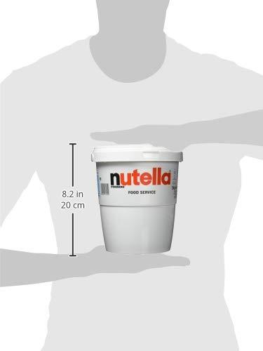 Nutella 3kg | Duże Wiaderko Oryginalnego Kremu