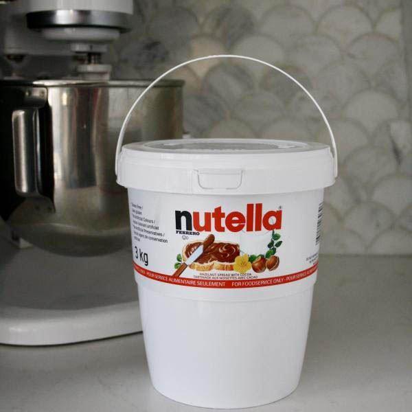 gofrex nutella