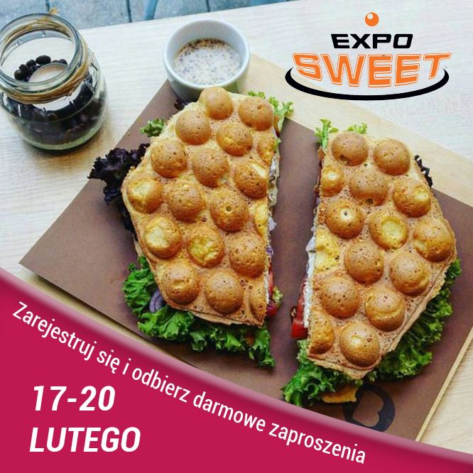 Darmowe zaproszenie na Expo Sweet 2019 Zaproszenie EXPO