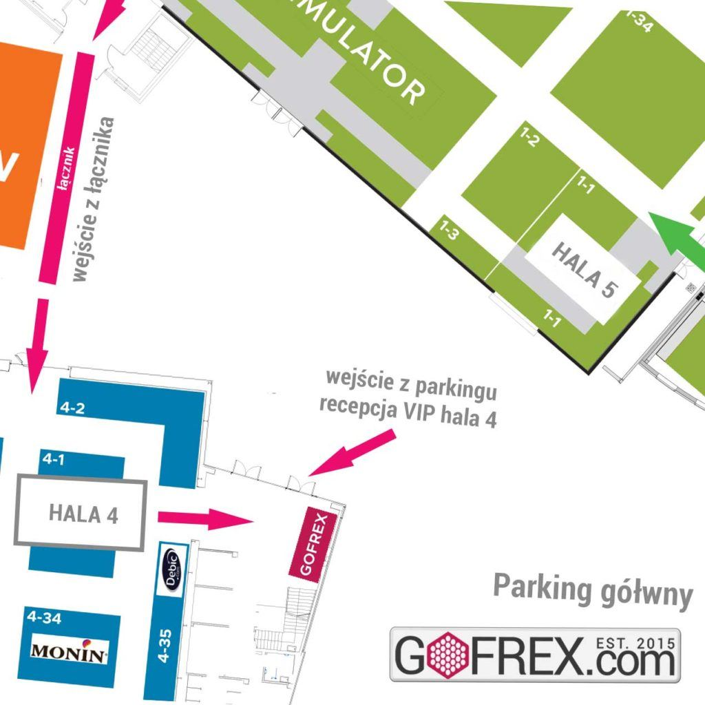 Darmowe zaproszenie na Expo Sweet 2019 mapa TARGI EXPO FB SQ