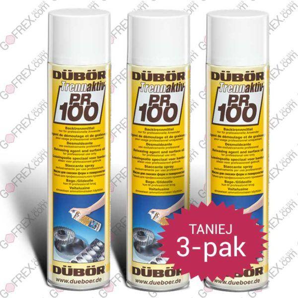 3-pak Olej w Sprayu do Gofrownic 600ml | Dübör_PR100