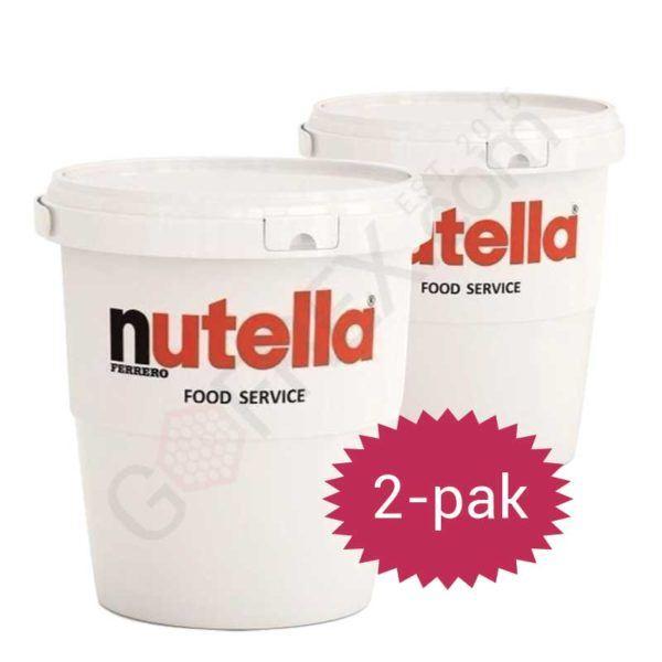 nutella 3kg 2pak