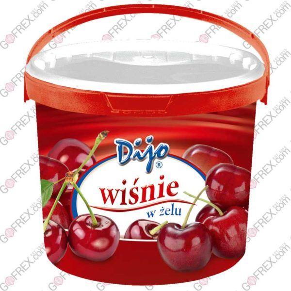 Frużelina Wiśniowa Dijo 3,2kg | Owoce w żelu
