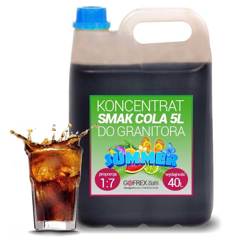 Granita Cola 6kg | Syrop Slushy | Koncentrat 1:7