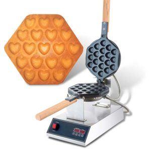 Gofrownica Bąbelkowa Serduszka | Bubble Waffle X-6
