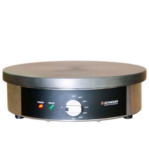 Naleśnikarka 2000W Schneider Crepe Maker | Profesjonalna Płyta 400mm