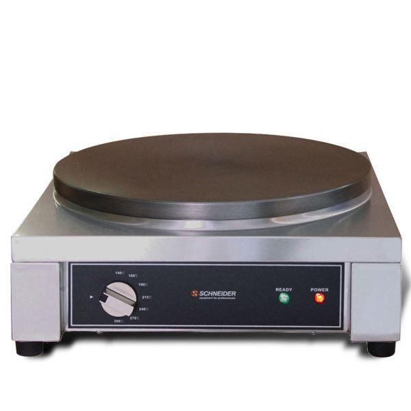 Naleśnikarka 2700W Schneider Crepe Maker | Profesjonalna Płyta 400mm