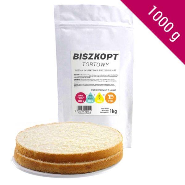 Biszkopt Tortowy 1kg | Gotowa Mieszanka na Tort