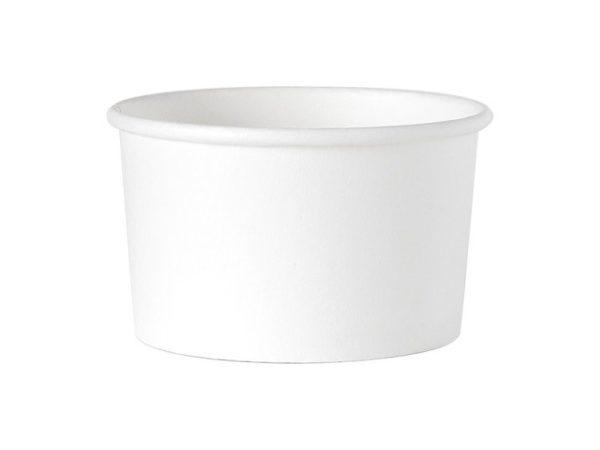 Kubek Miseczka Gelato Panini | Opakowania Białe 90 szt. 350 ml