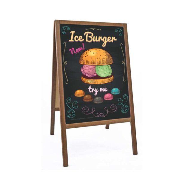 Reklama Lodoburgery Try Me | Plakat Format B2