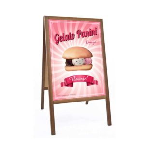 Reklama Lodoburgery Enjoy | Plakat Format B2