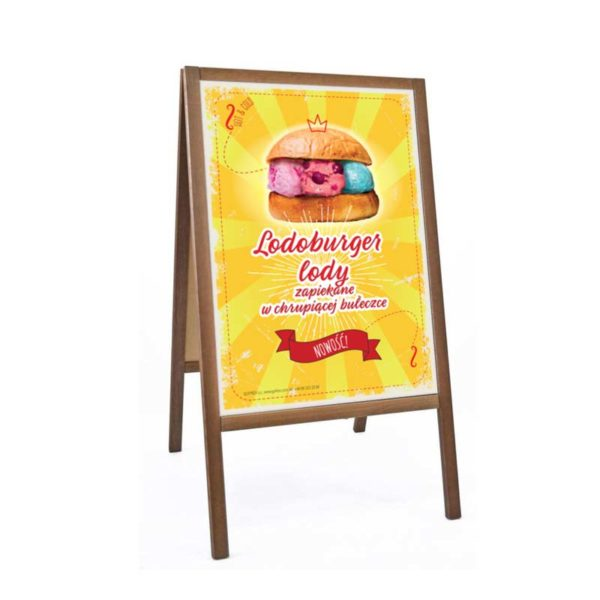 Reklama Lodoburgery Summer | Plakat Format B2