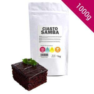 Ciasto o Intensywnym Smaku Czekoladowym Samba | Gotowa Mieszanka 1 Kg