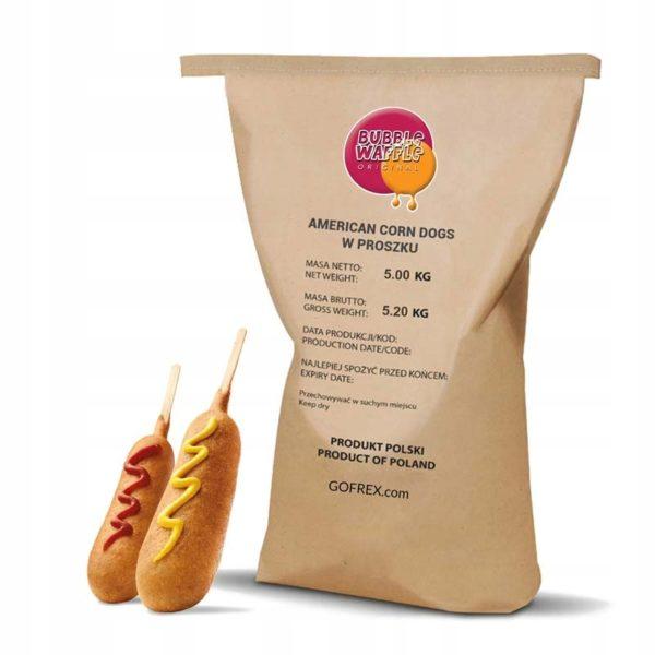 Corn Dogi Amerykańskie w Proszku  5kg
