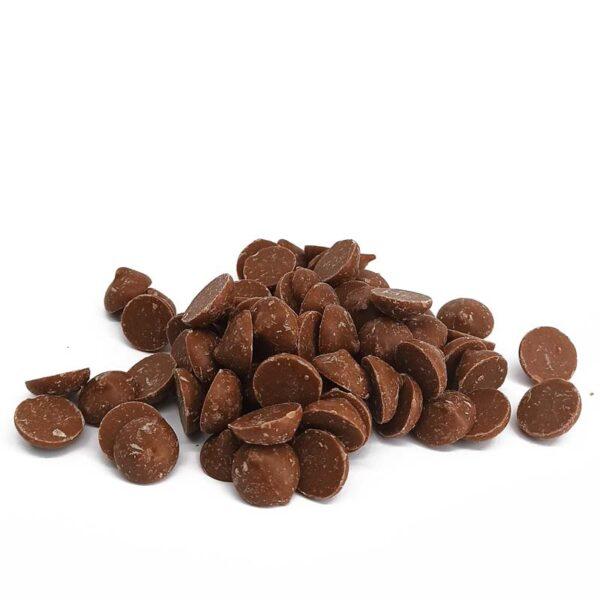 dyski czkolada mleczna do rozpuszczania