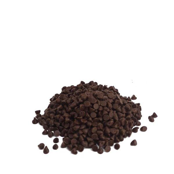 kropelki czkolada deserowa do rozpuszczania posypka